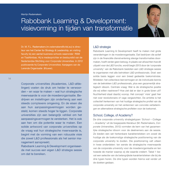 Rabobank Learning & Development